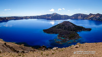 Crater Lake East Panorama Wallpaper