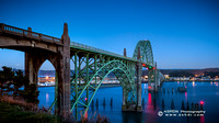 Yaquina Bay Bridge Night Wallpaper