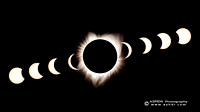 Solar Eclipse 2017 Composite Wallpaper
